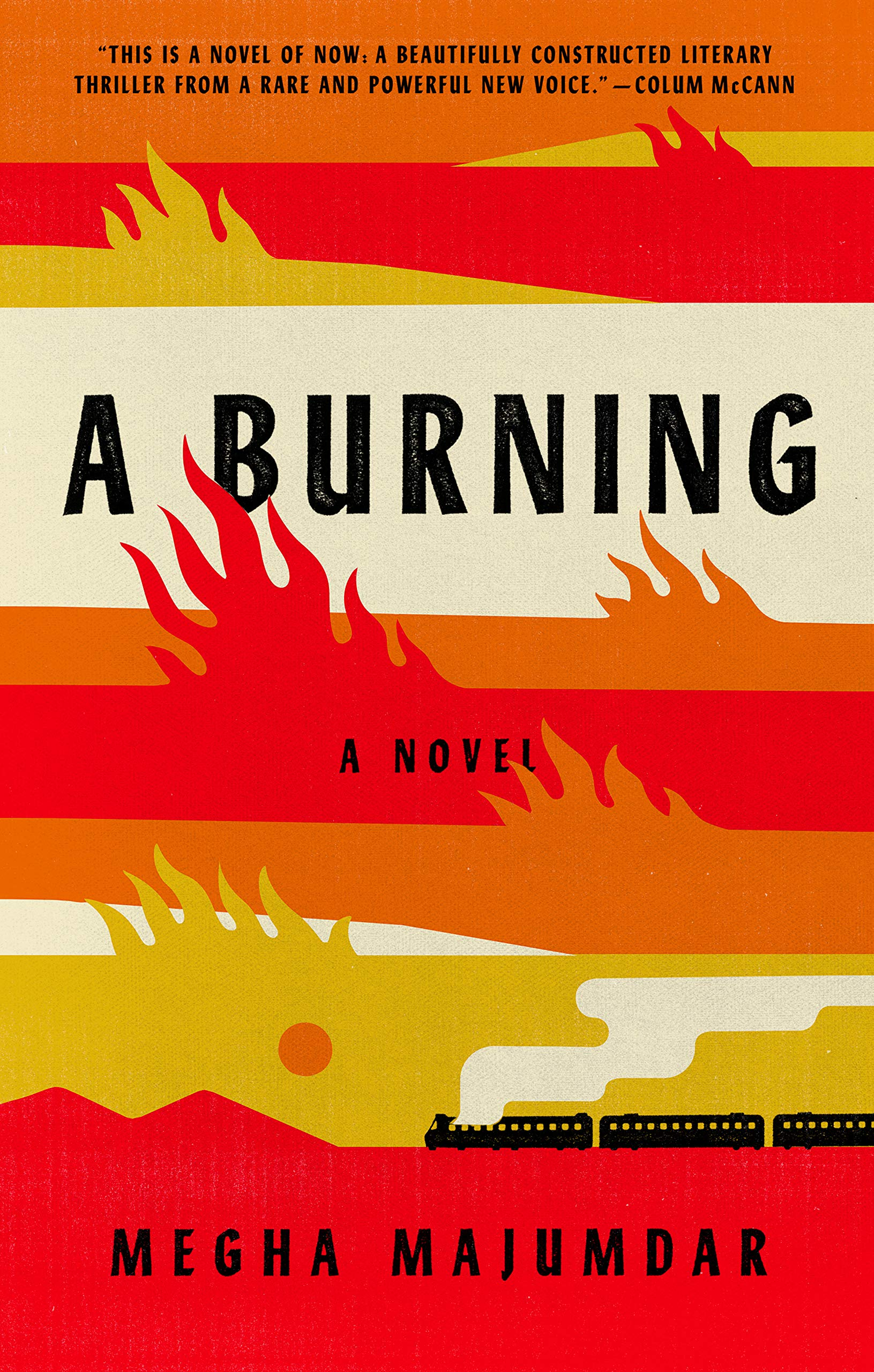 Book cover A Burning