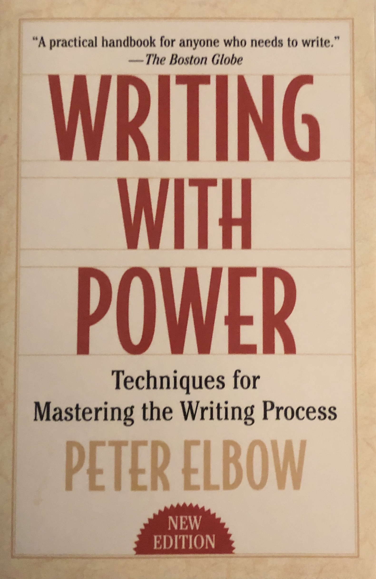 Writing with Power - Techniques for
