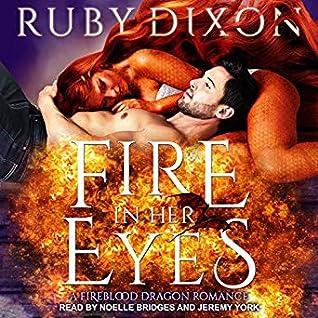 Fire in Her Eyes (Fireblood Dragon Romance, #7)