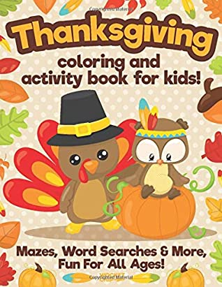 Thanksgiving Coloring Book For Kids: A Collection of Fun and Easy ... | 411x318