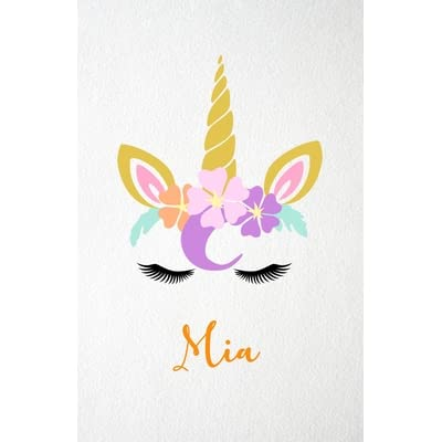 A5 PERSONALISED /& STANDARD UNICORN NOTEBOOK NOTES BOOK 50 LINED BLANK PAGES 01