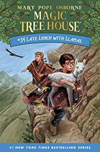 Late Lunch with Llamas (Magic Tree House #34)
