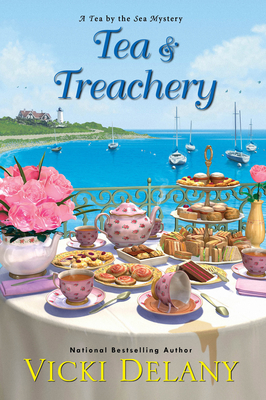Tea & Treachery (Tea by the Sea Mysteries #1)