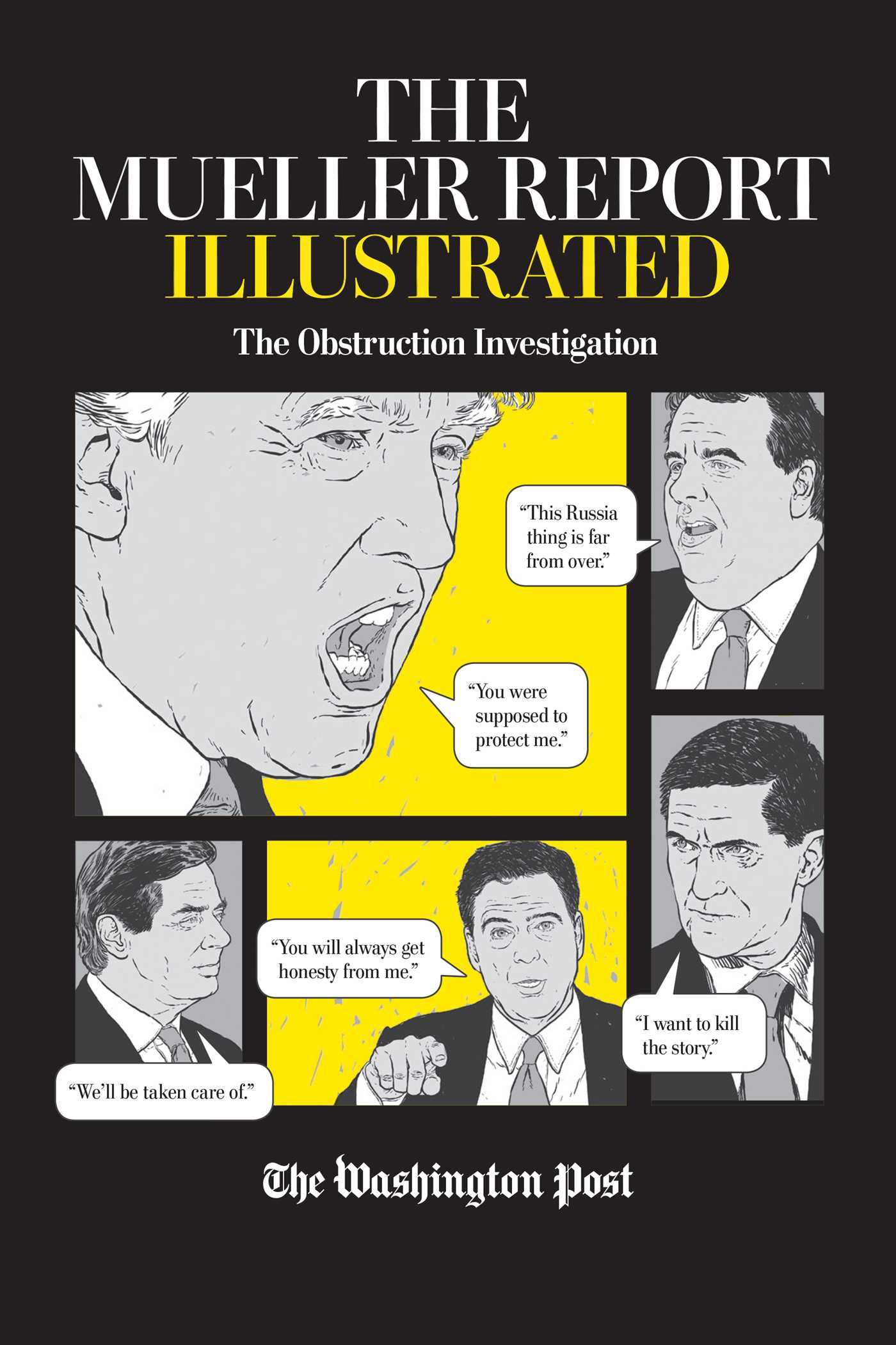 The Mueller Report Illustrated by The Washington Post