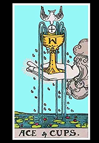 Ace of Cups Tarot Card Visionary Journal by Mojo