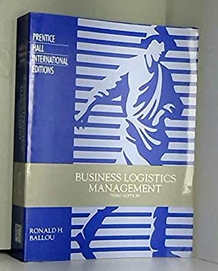 Business Logistics Management By Ronald H Ballou