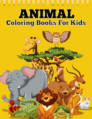 Animal Coloring Books For Kids An Animal Coloring Book With Fun Easy Adorable Animals Farm Scenery Relaxation And Baby Animals Coloring Pages For Kids By King Of Store