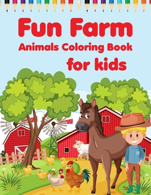Farm Animal Printable Colouring Pages - Messy Little Monster | 400x309