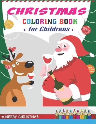 Christmas Coloring Book For Childrens Best Magic Santa