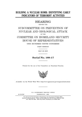 Building a nuclear bomb: identifying early indicators of terrorist activities