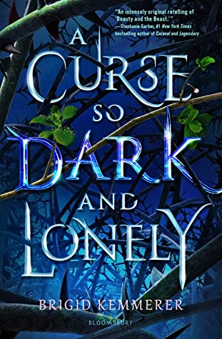 Image result for a curse so dark and lonely goodreads