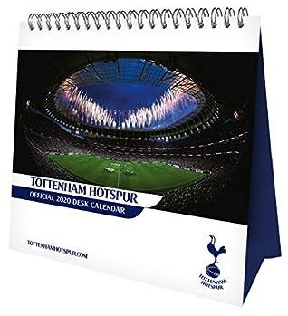 Tottenham Hotspur Fc Desk Easel Official 2020 Calendar Month To View Desk Calendar By Tottenham Hotspur Fc