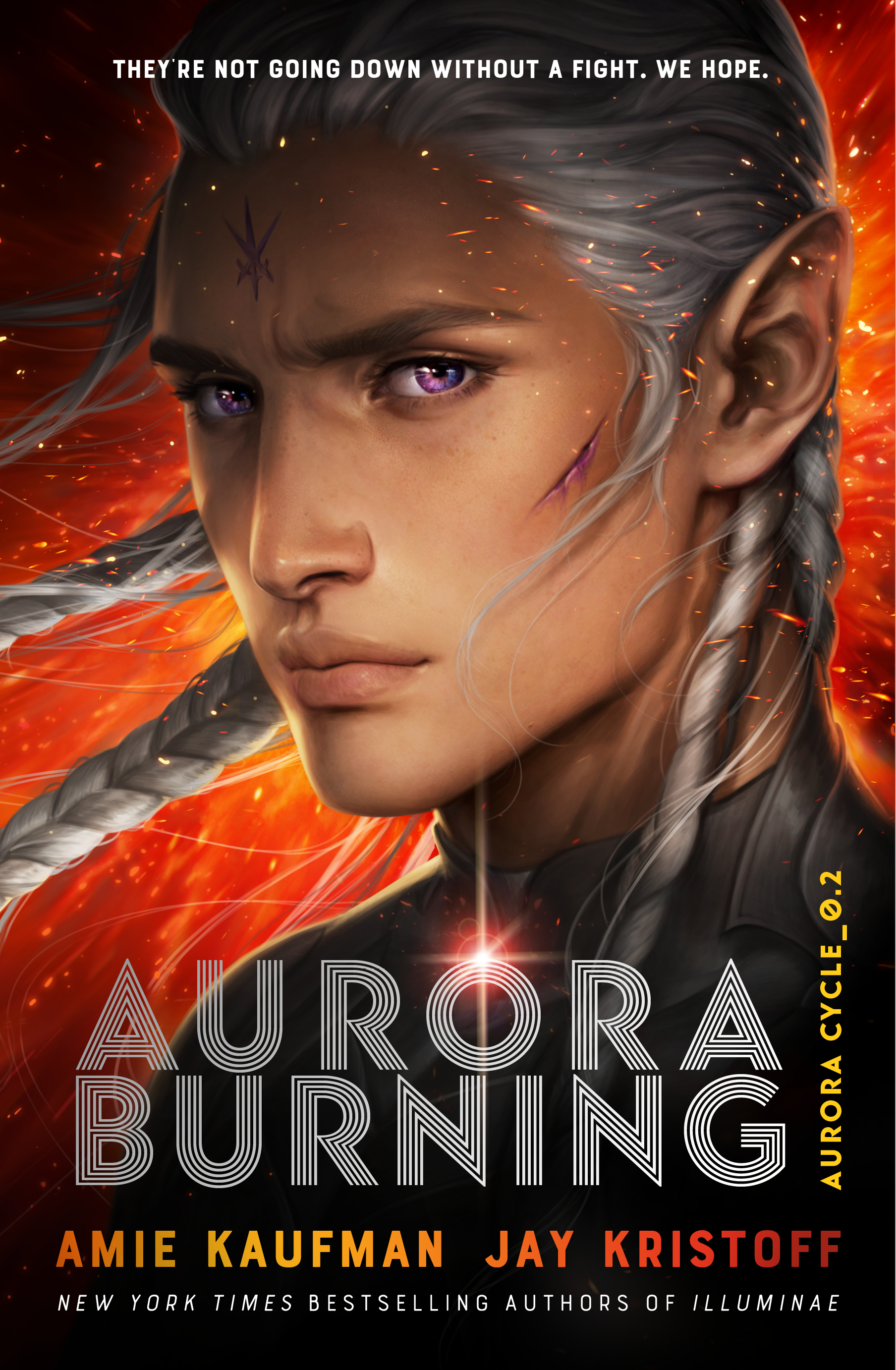 Aurora Burning (The Aurora Cycle, #2) by Amie Kaufman