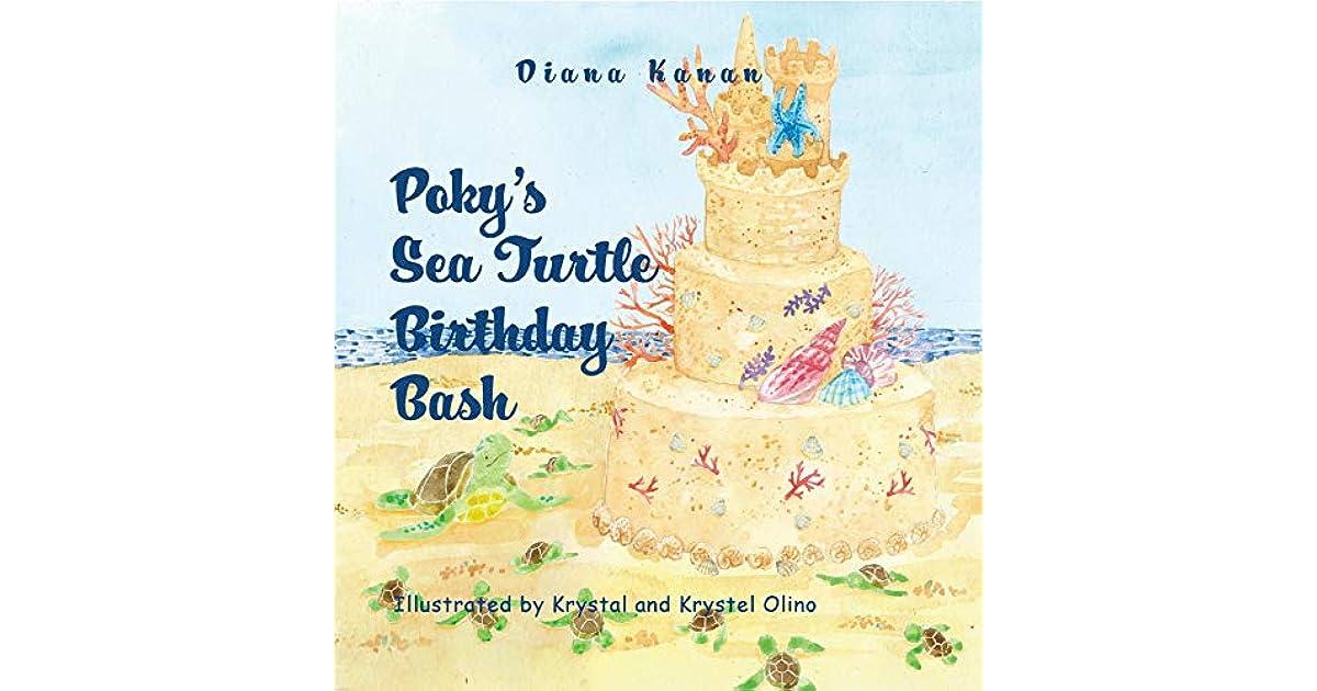 Awesome Pokys Sea Turtle Birthday Bash By Diana Kanan Personalised Birthday Cards Veneteletsinfo