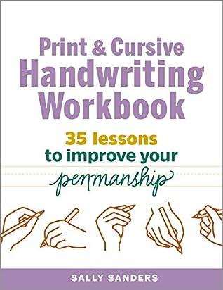 Print and Cursive Handwriting Workbook