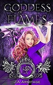 Goddess of Flames (Kingdom of Fairytales: Sleeping Beauty, #4)