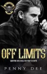 Book cover for Off Limits (Kings of Mayhem MC, #5)