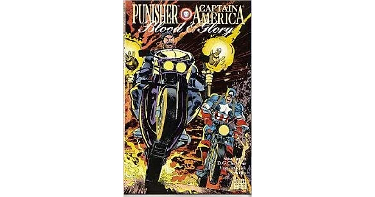 PUNISHER CAPTAIN AMERICA #2 OF 3 BLOOD /& GLORY MARVEL COMICS 0871358875