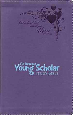 The New King James Remnant Young Scholar Study Bible -Lavender Leathersoft
