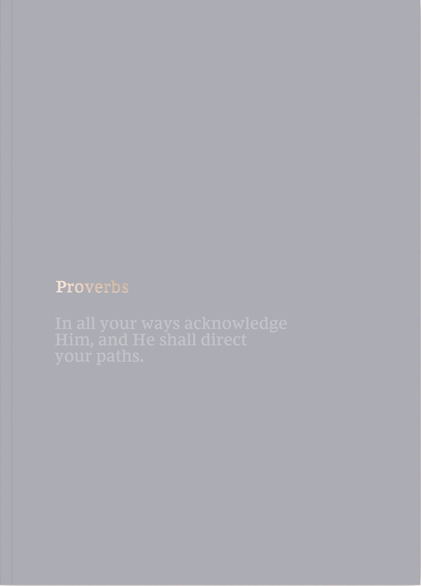NKJV Bible Journal - Proverbs, Softcover, Comfort Print: Holy Bible, New King James Version