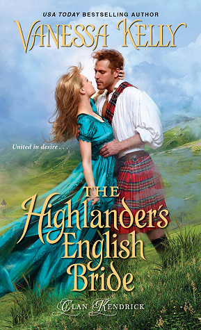The Highlander's English Bride (Clan Kendrick, #3)