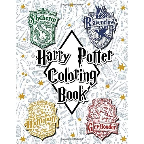 Harry Potter Coloring Book by Harry Hendrick