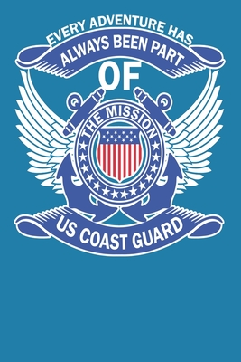 Us Cost Guard: Official US COAST GUARD NoteBook/Journal 6 x 9, 100 Page Blank Lined Paperback