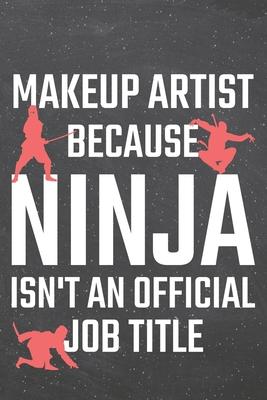 Makeup Artist Dot Grid Notebook Planner