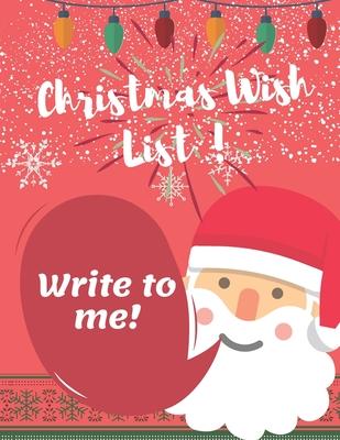 Christmas Wish List Dear Santa Letter To Santa An