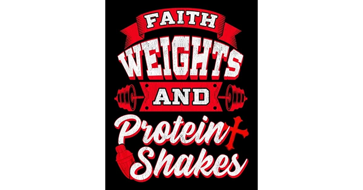 View Faith Weights & Protein Shakes PNG