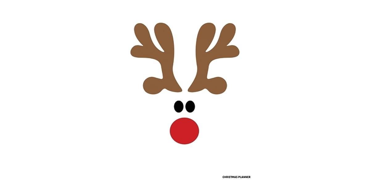 Reindeer Christmas Journal Notebook