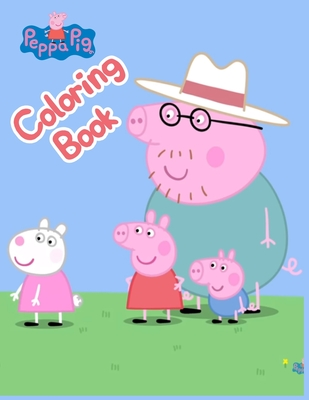 Peppa Pig Coloring Books: Peppa Pig Coloring Books, Peppa Pig Coloring Books For Kids Ages 2-4. 25 Pages - 8.5 x 11