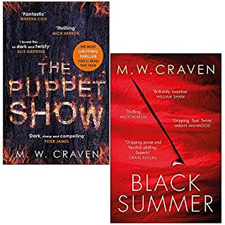 Washington Poe Series 2 Books Collection Set By M. W. Craven (The Puppet Show, Black Summer [Hardcover])