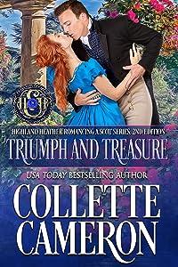 Triumph and Treasure (Highland Heather Romancing a Scot, #1)