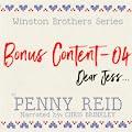 Dear Jess: Winston Brothers Bonus Content, #4