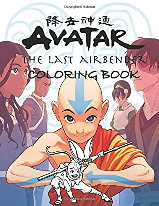 Avatar The Last Airbender Coloring Book 50 Beautiful Illustration Of Avatar S Characters Aang Zuku Katara And More By Oneone Book
