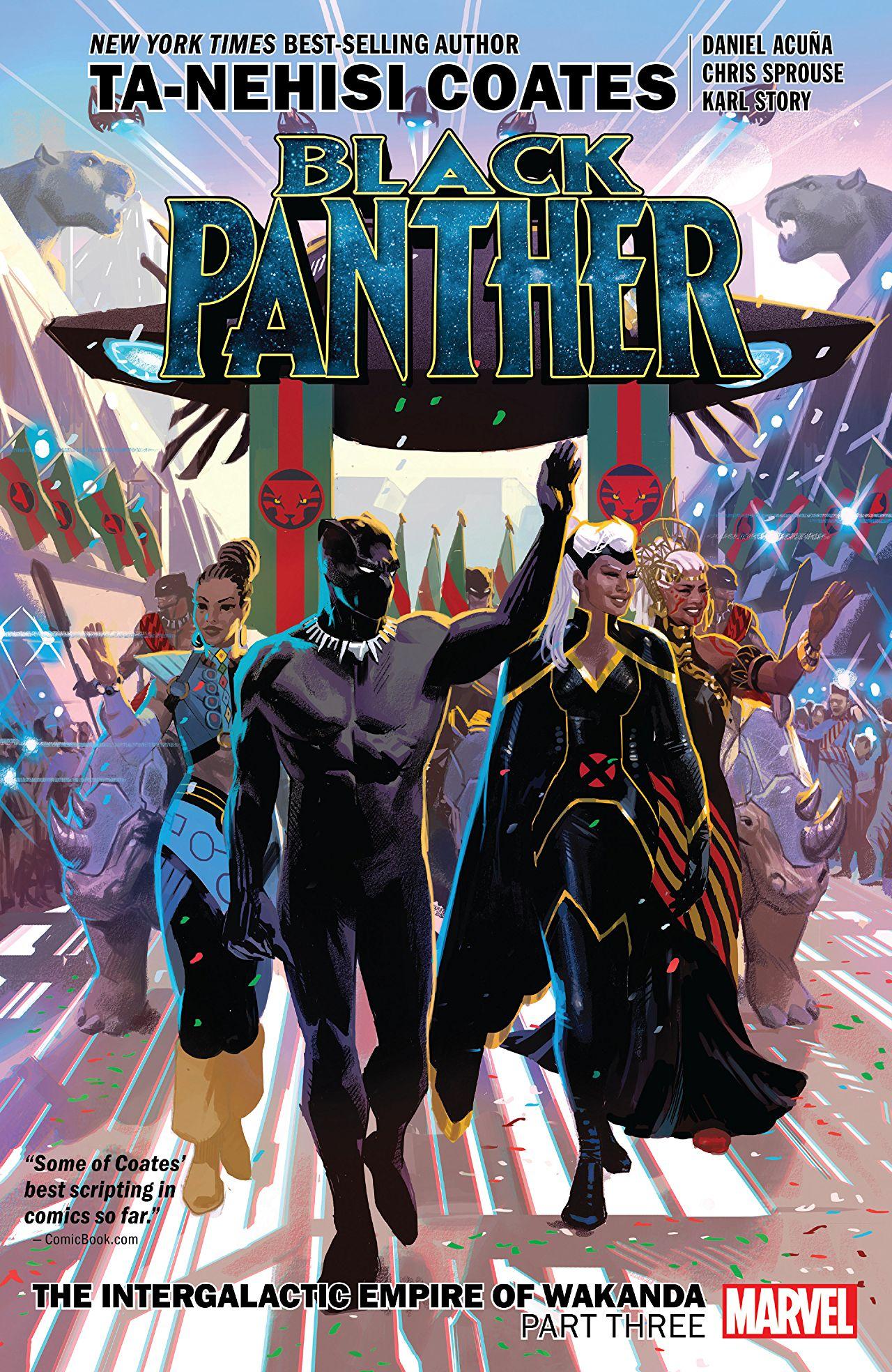 Black Panther, Book 8: The Intergalactic Empire of Wakanda, Part Three