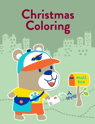 coloring pages : Printable Christmas Coloring Book coloring pagess | 400x309
