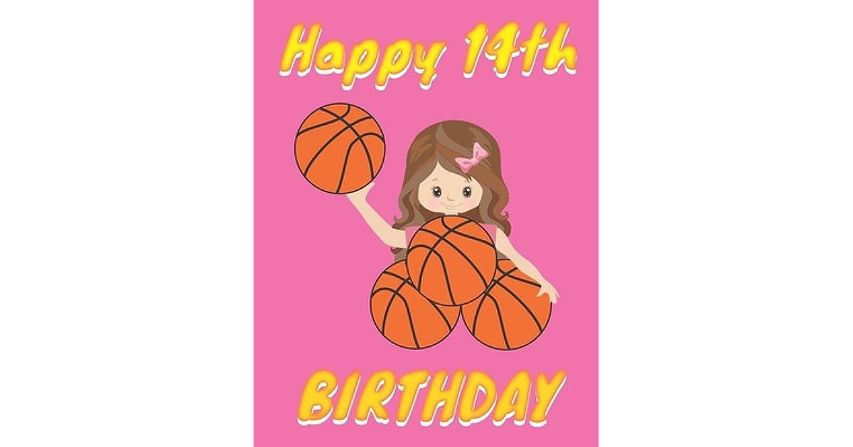 Happy 14th Birthday: Basketball Themed