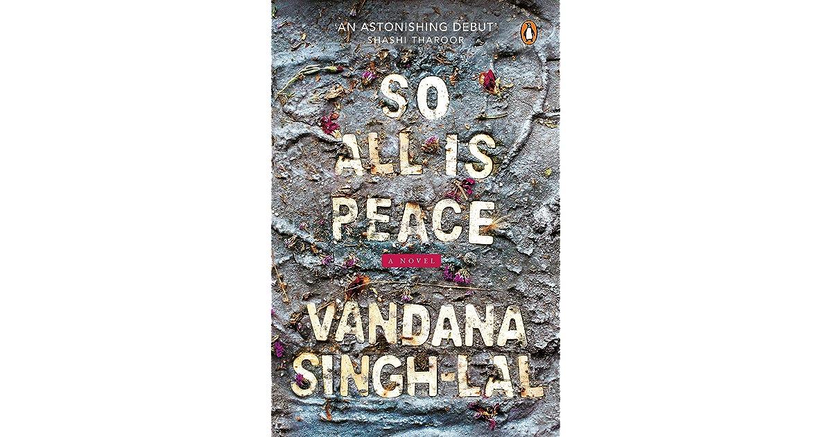 Ebook So All Is Peace By Vandana Singh Lal
