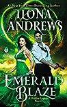 Book cover for Emerald Blaze (Hidden Legacy, #5)