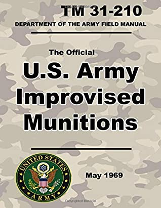 U.S. Army Improvised Munitions: Official TM 31-210 - 6 x 9 inch size - 258 Pages - (Prepper Survival Army)