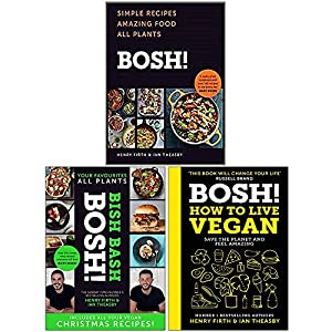 Bosh 3 Books Collection Set By Henry Firth and Ian Theasby