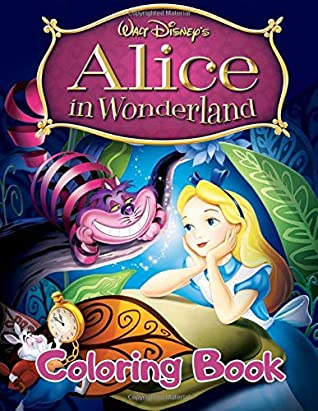 Alice in Wonderland Coloring Book: 23 Exclusive ...
