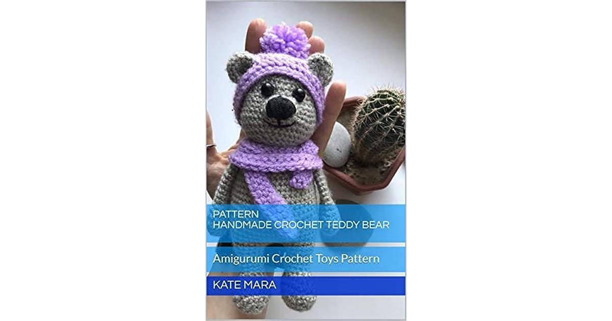 Free Teddy Bear crochet pattern - Amigurumi Today | 630x1200