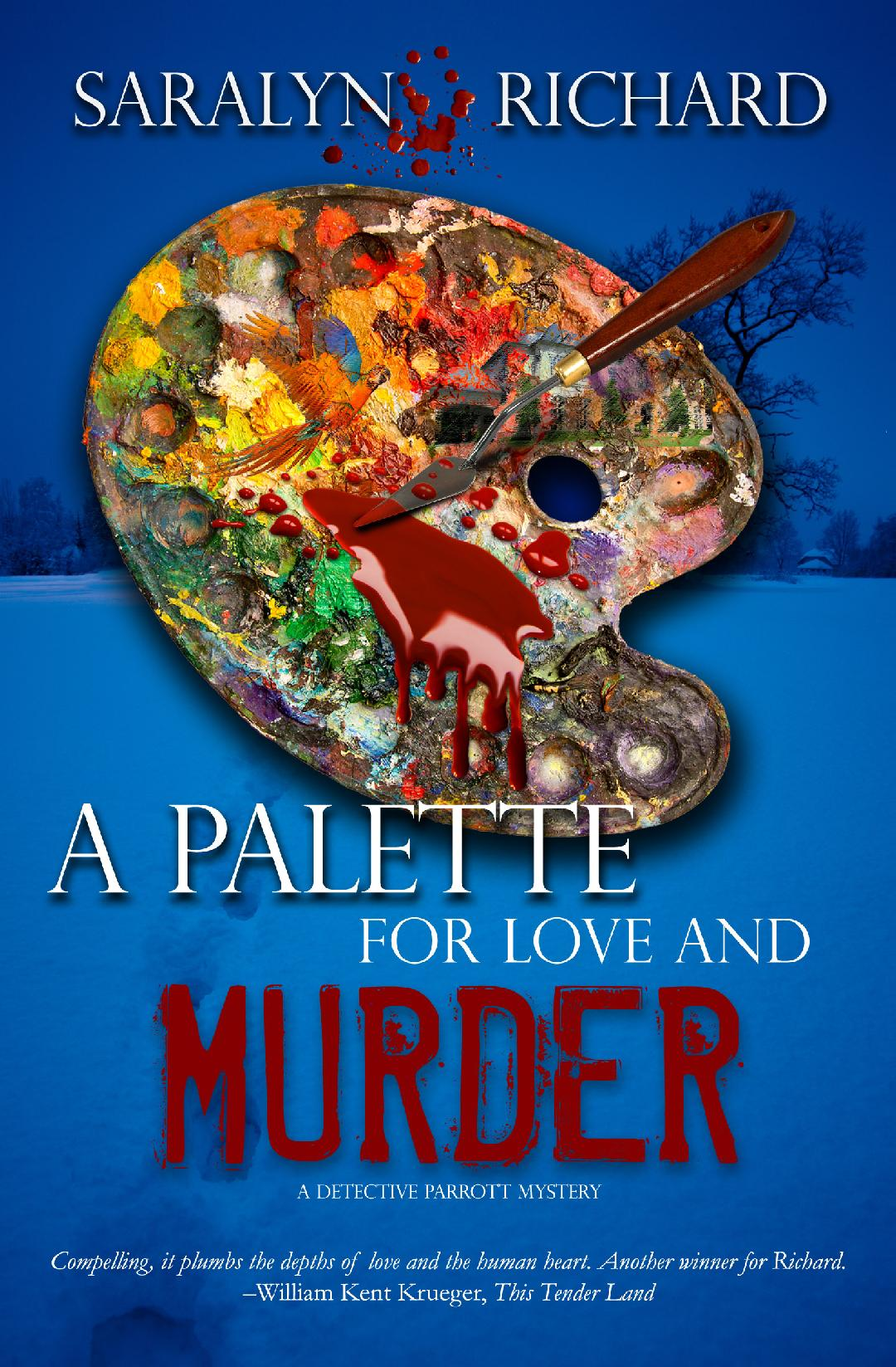 A Palette for Love and Murder (Detective Parrott Mystery #2)