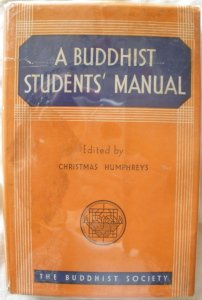 Book cover a Buddhist students manual