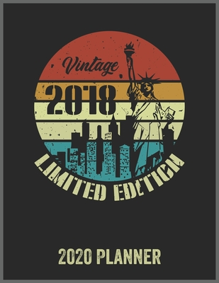 Vintage 2018 Limited Edition 2020 Planner: Daily Weekly Planner with Monthly quick-view/over view with 2020 Planner