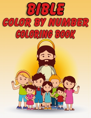 Bible Color by Number Coloring Book: Bible Stories Inspired ...