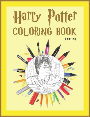 Harry Potter Coloring Book (Part-3): Magical Places ...